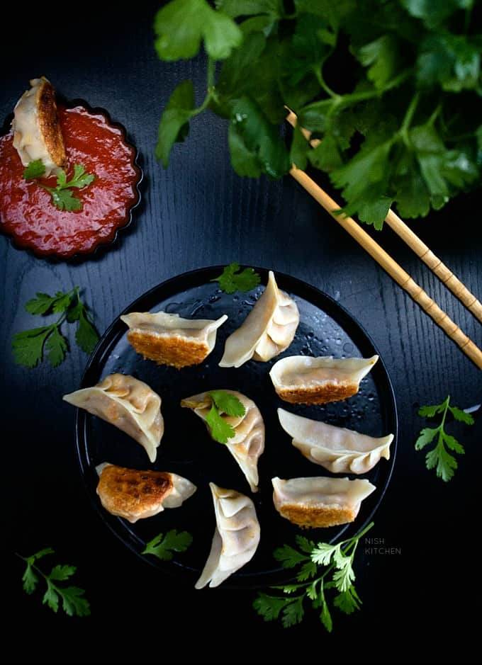 indian style potstickers