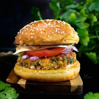 aloo tikki burger recipe video