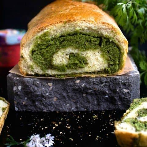 chutney swirl bread recipe video