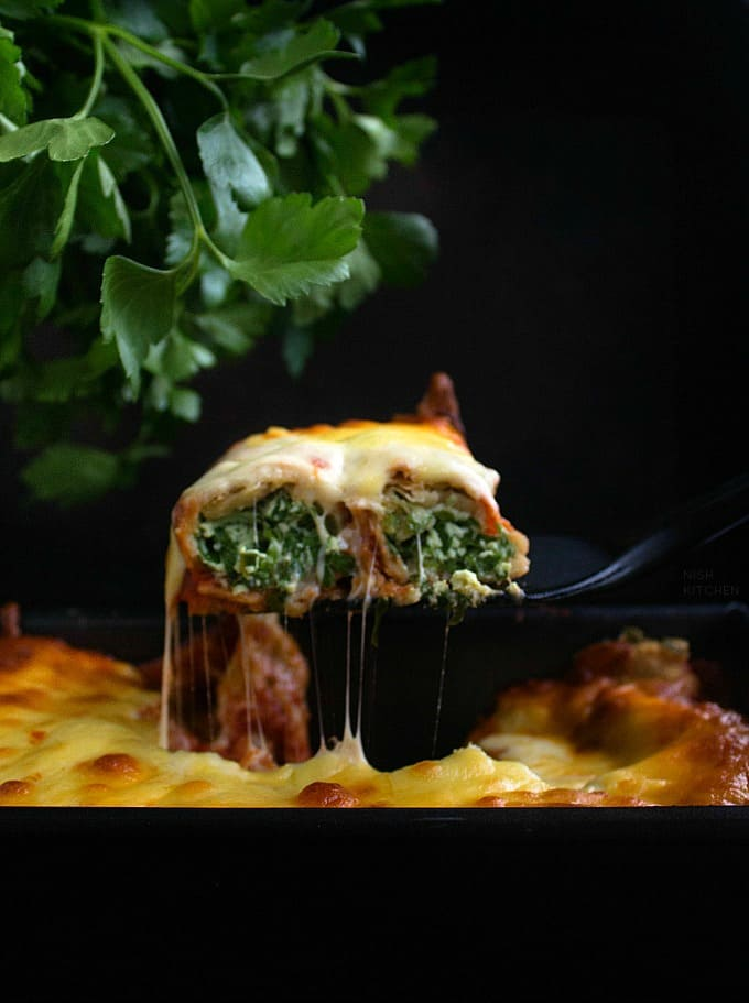 Roti Cannelloni Bake Recipe Video