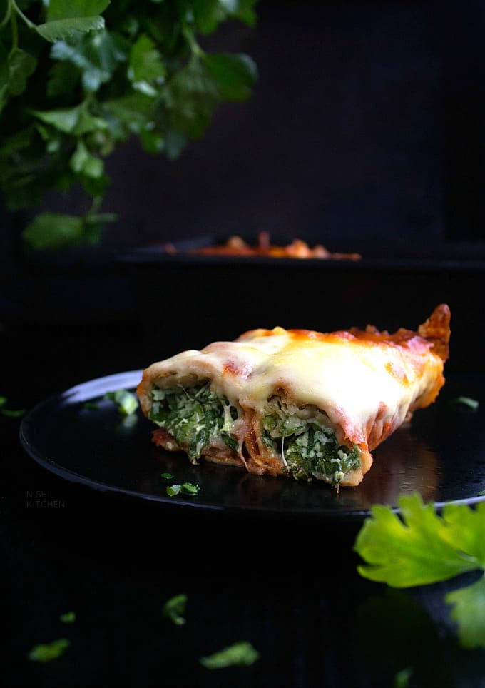 Roti Cannelloni Bake Recipe