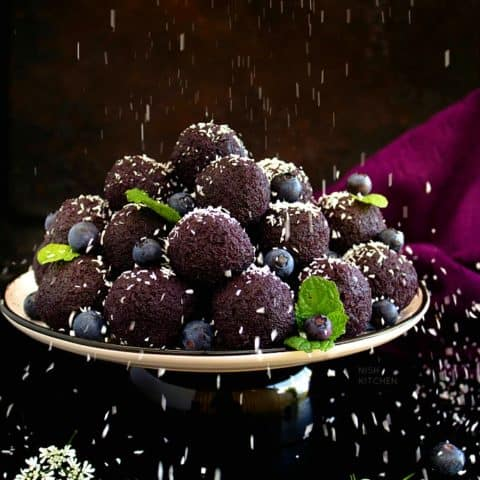 Blueberry Ladoo Recipe Video