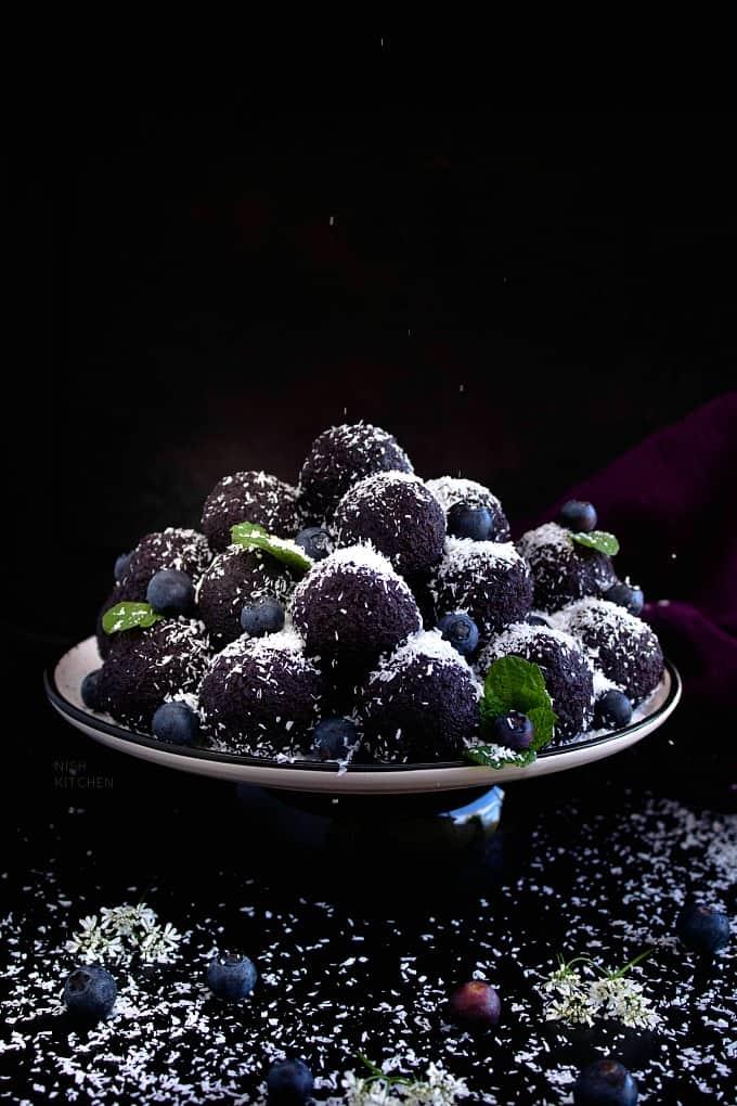 Blueberry Ladoo Recipe