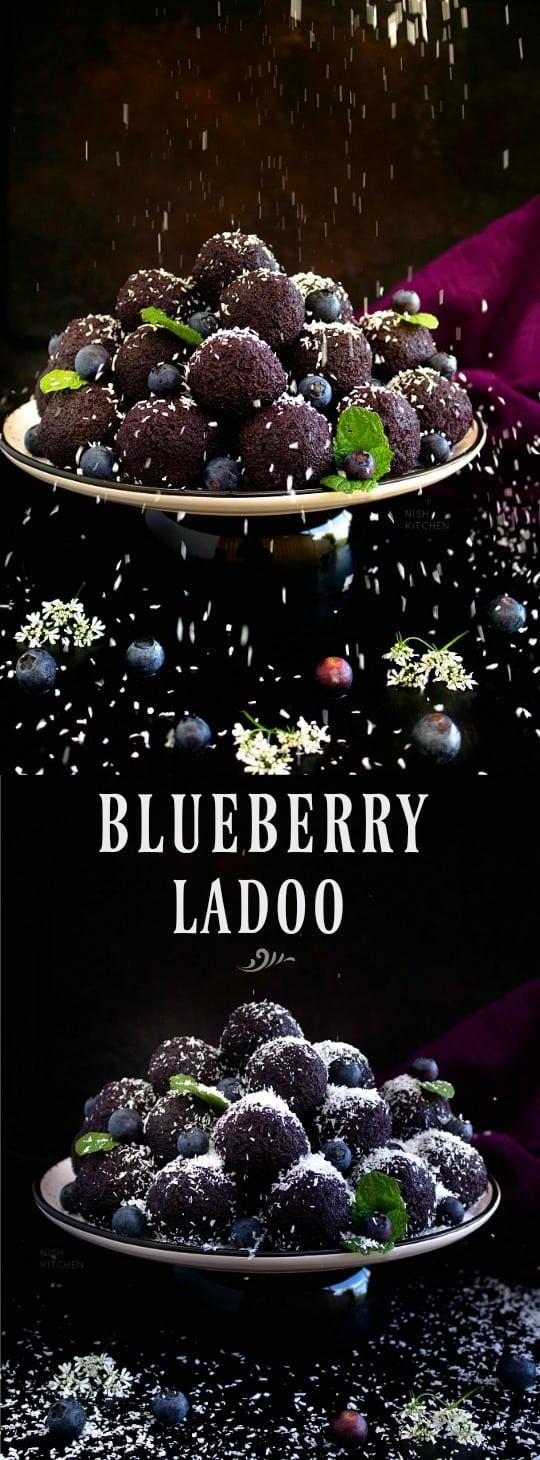 Blueberry Ladoo