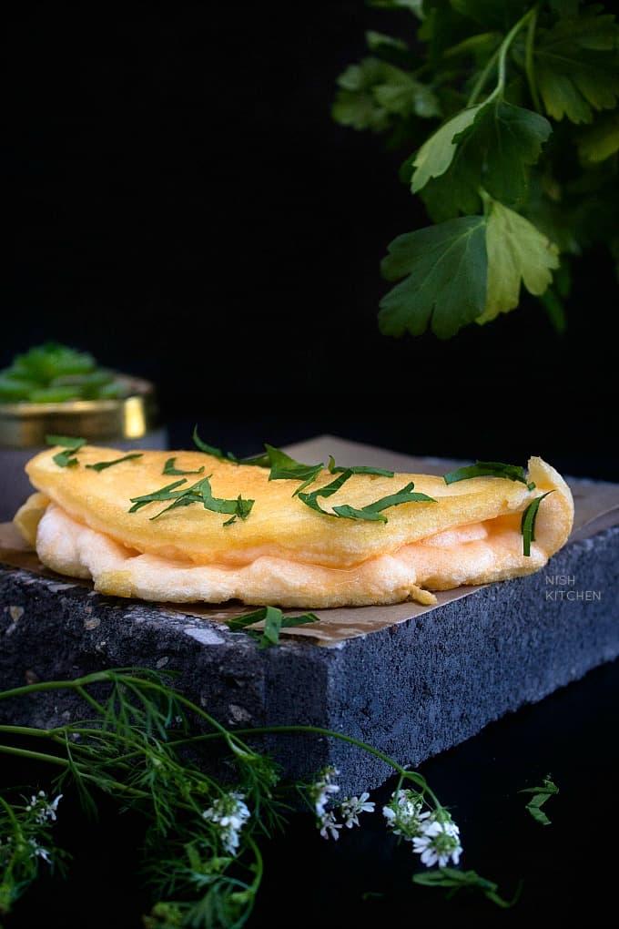 Japanese souffle omelette recipe