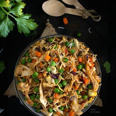 Turkey Fried Rice Recipe Video