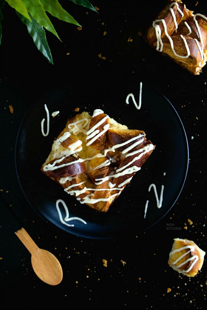 French Toast Bake Recipe with Eggnog