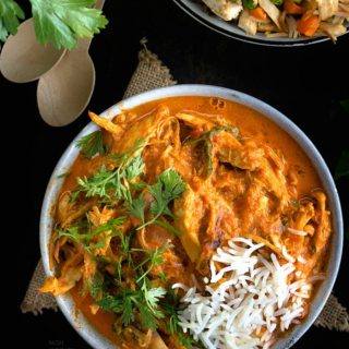 Leftover Turkey Curry Recipe Video