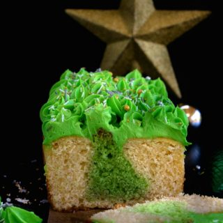 Surprise Inside Christmas Tree Cake Recipe Video