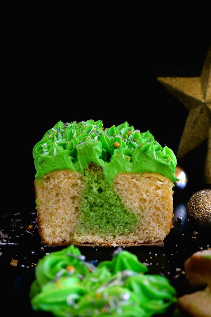 Surprise Inside Christmas Tree Cake Recipe