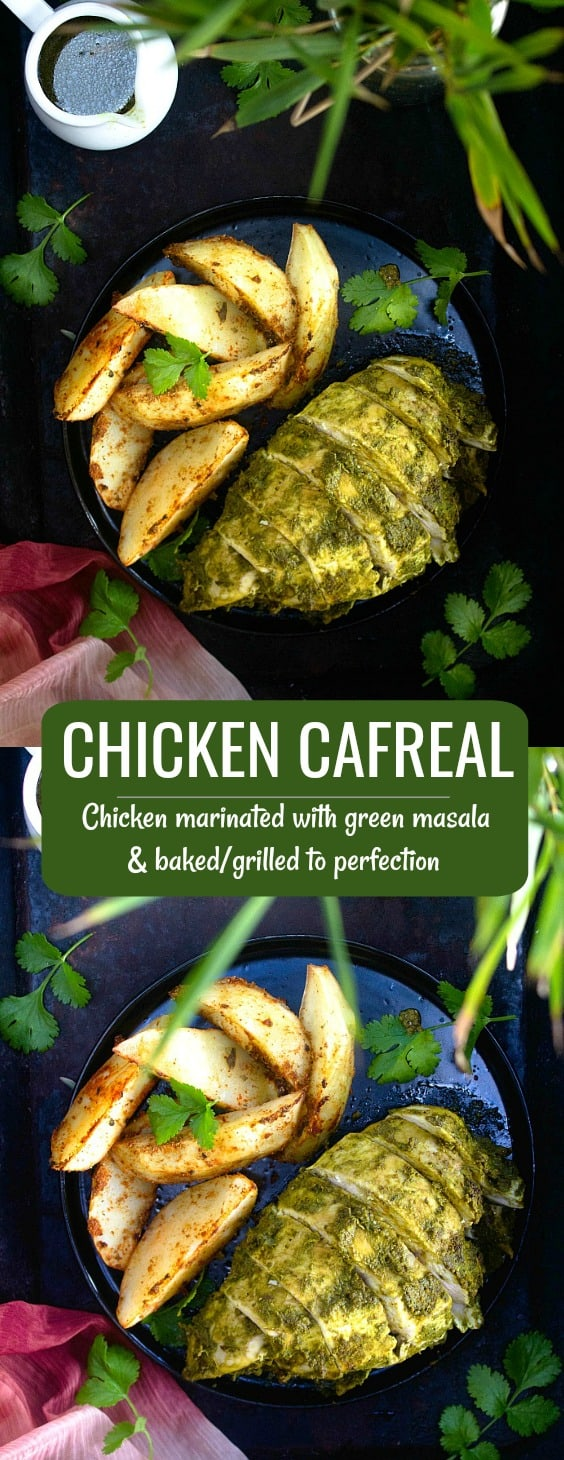 Goan Chicken Cafreal Recipe
