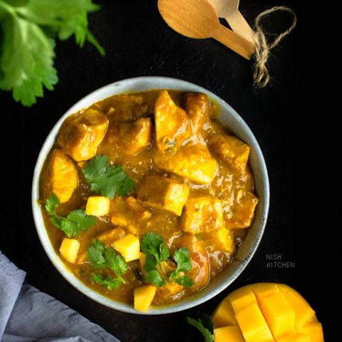 Mango Chicken Curry Recipe Video