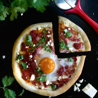 shakshuka pizza recipe video