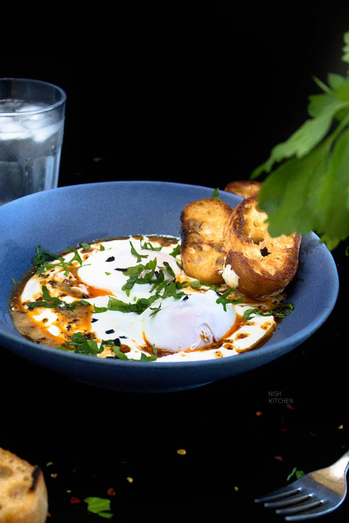 Turkish Poached Eggs Recipe