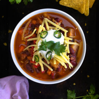 Vegetarian Chili Recipe Video