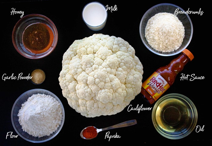 cauliflower wings ingredients