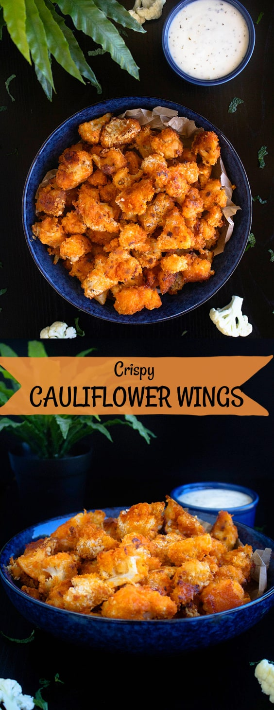 Crispy Cauliflower Wings