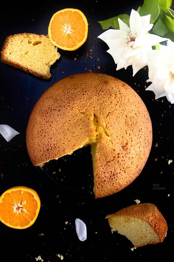 Portuguese Orange Olive Oil Cake Recipe