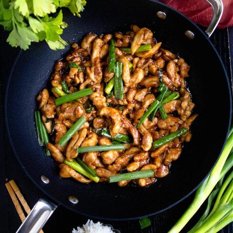 Mongolian Chicken Recipe Video