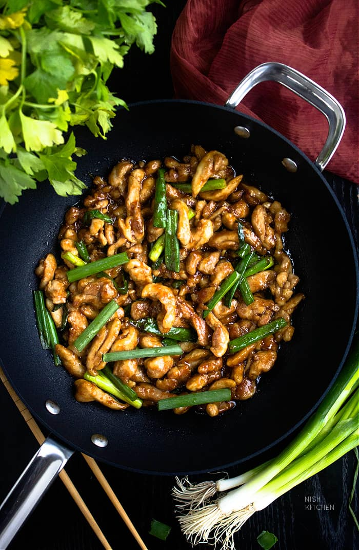 Mongolian Stir Fry with Chicken