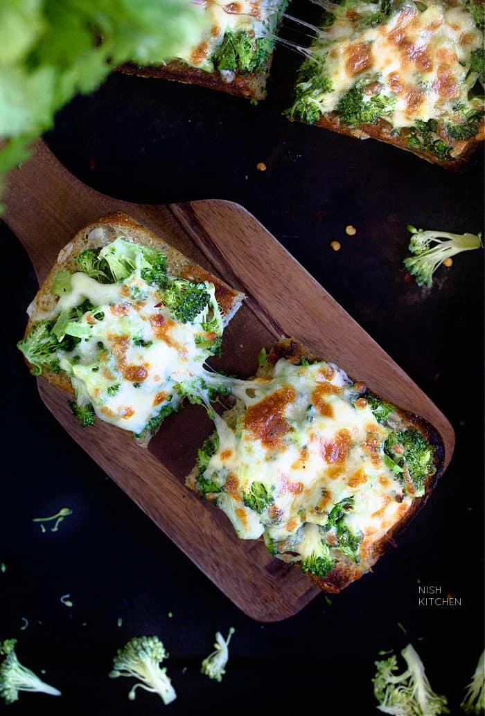 Broccoli Melts Recipe Video