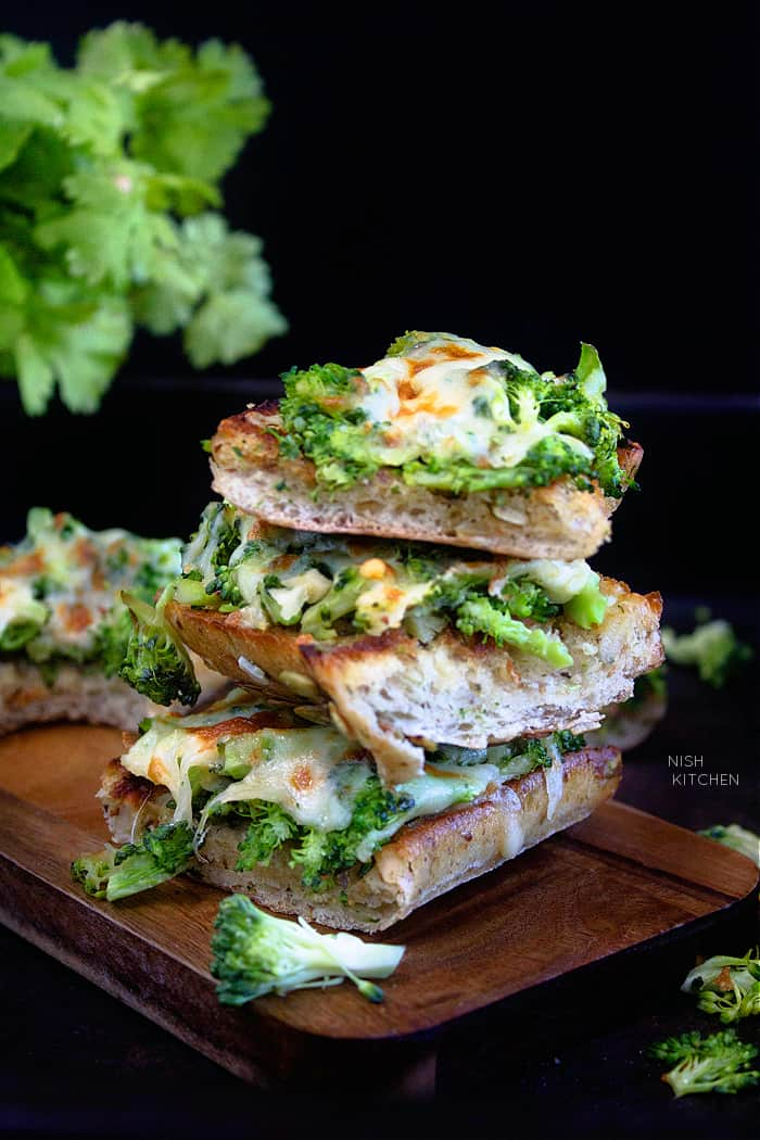 Broccoli melts recipe
