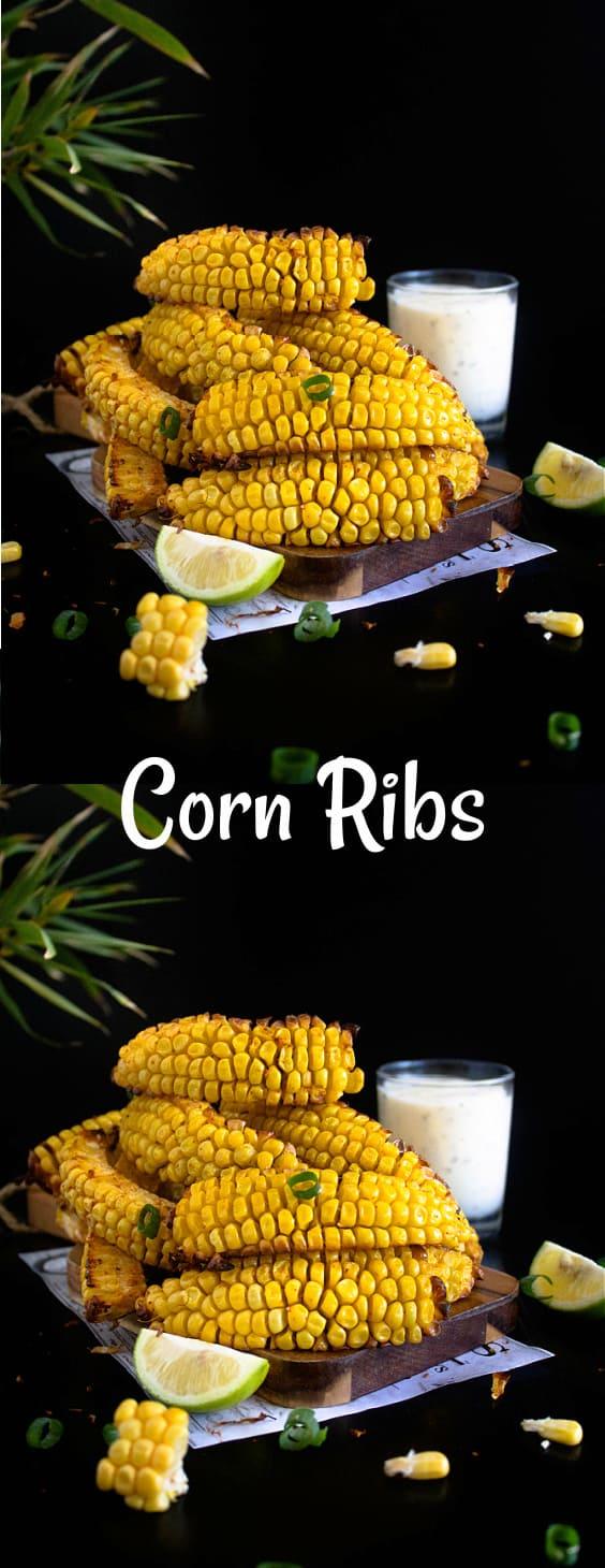 Vegan Corn Ribs