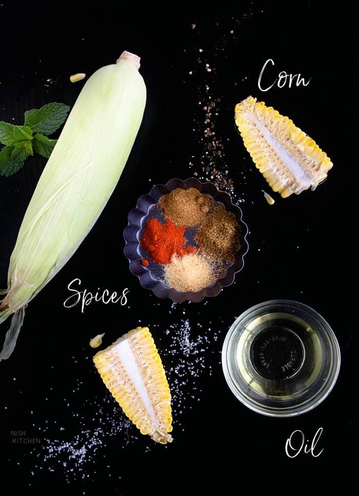 Ingredients for vegetarian ribs