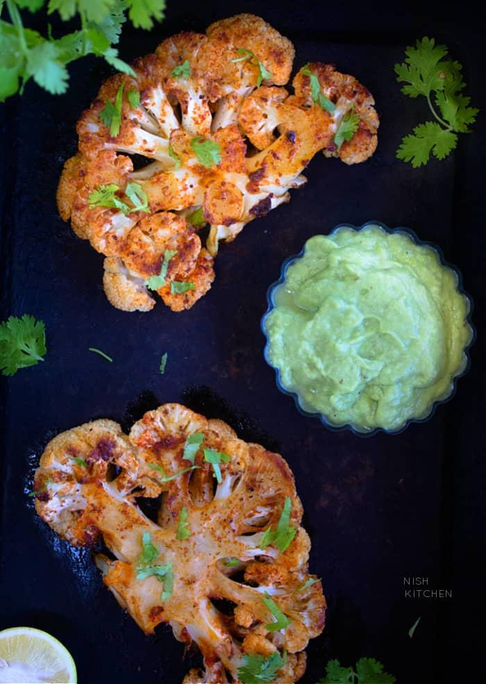 Cauliflower Vegetarian Steak Recipe