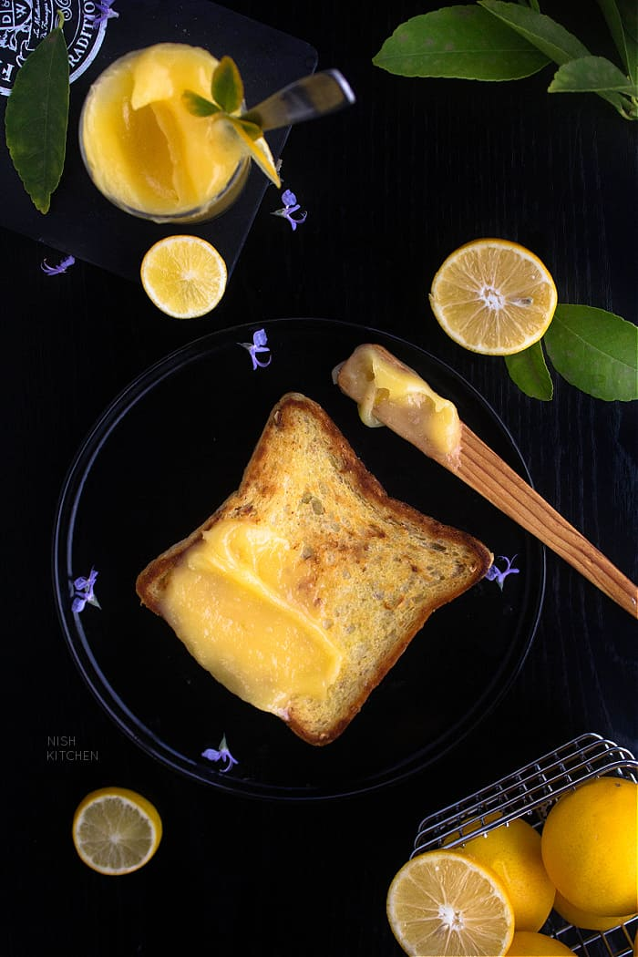Lemon Curd on Toast Recipe Video