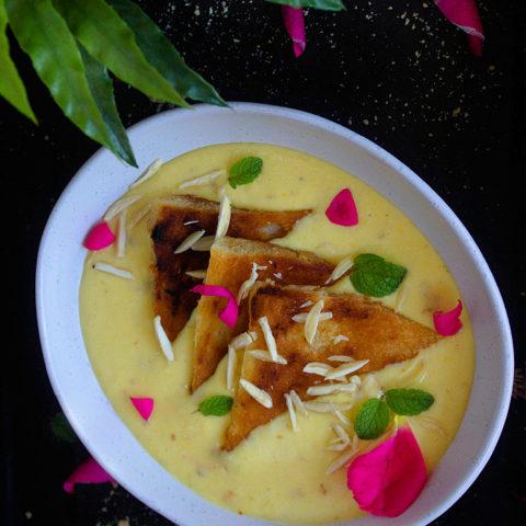 Shahi tukda recipe video