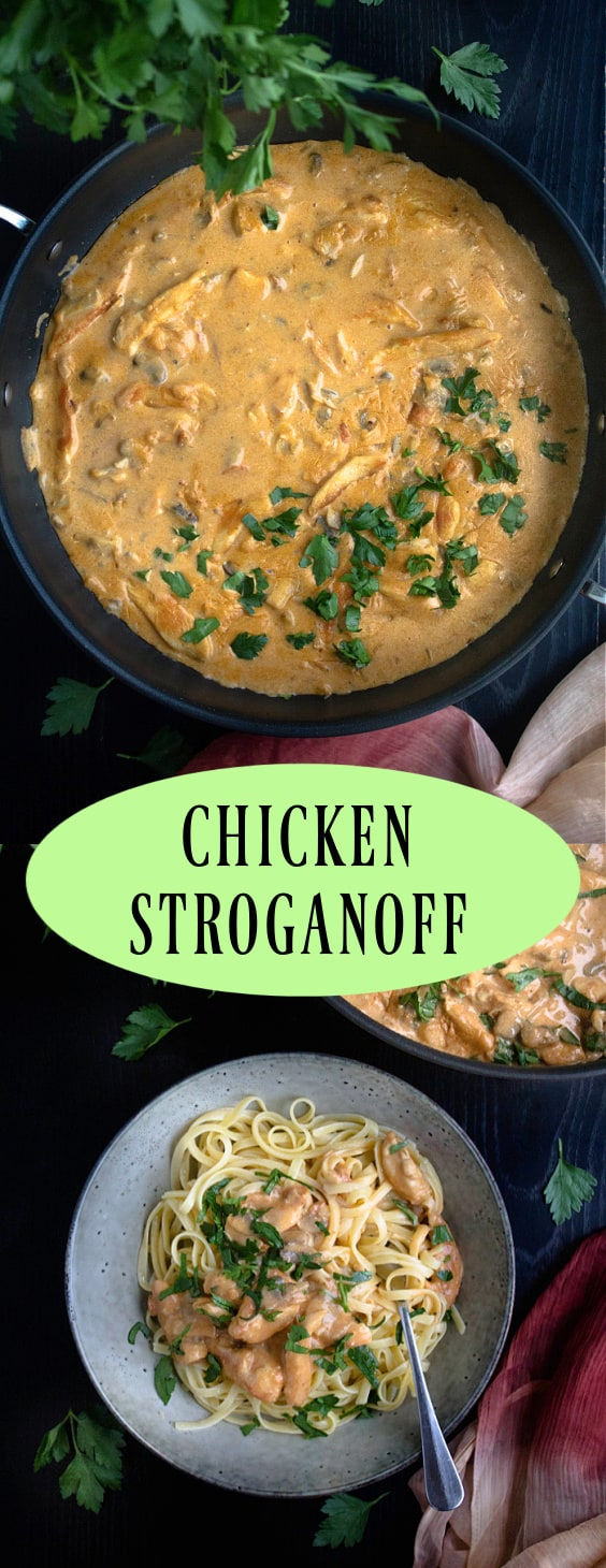 Chicken and Mushroom Stroganoff
