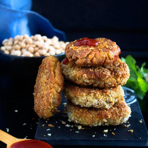 Chickpea Nuggets Recipe Video