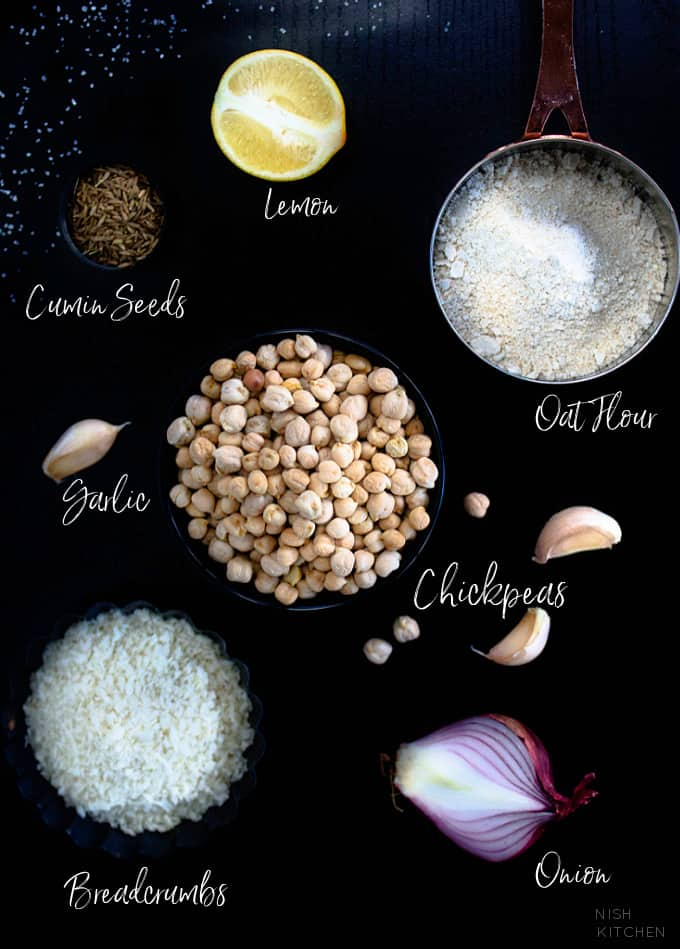 Chickpea Nuggets Ingredients