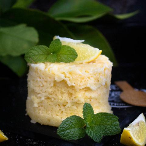 Microwave Lemon Mug Cake Recipe Video