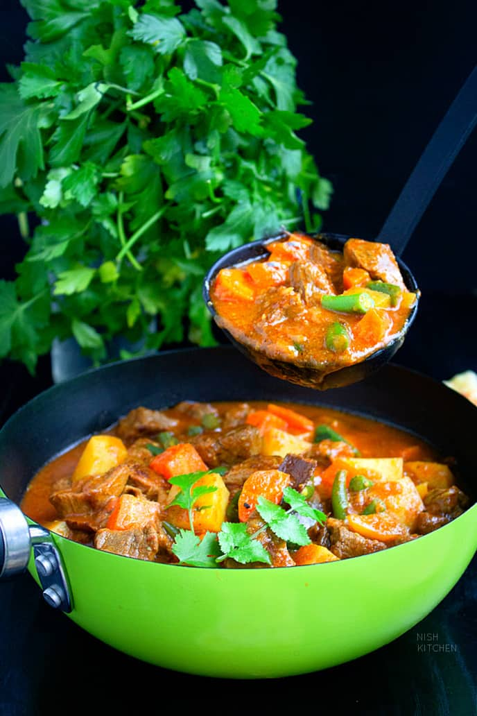Beef Stew Indian Style