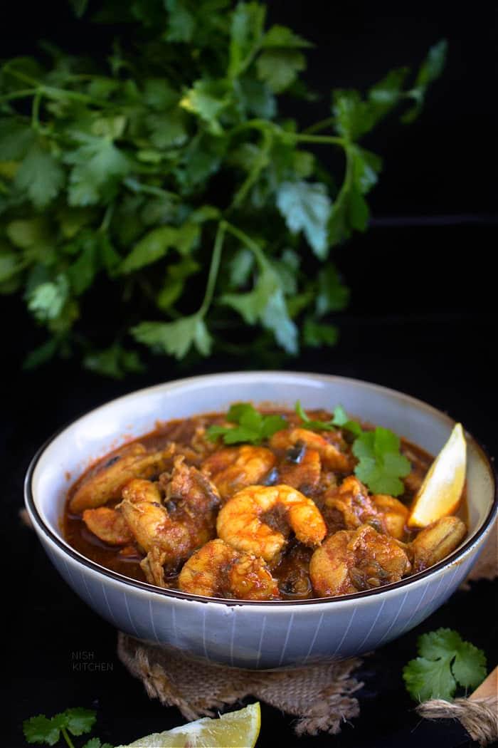 Indian prawn curry recipe