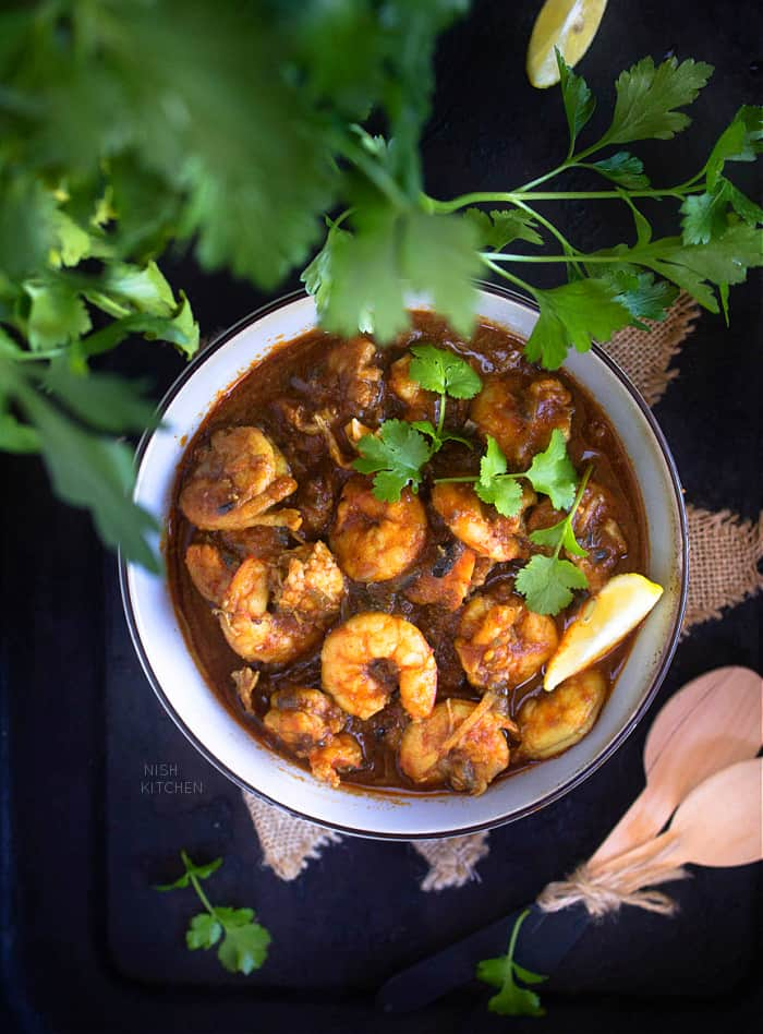 prawn curry Indian style