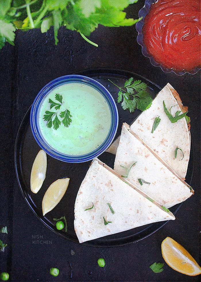 samosa quesadilla recipe