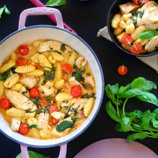 Tuscan Butter Gnocchi with Chicken recipe video
