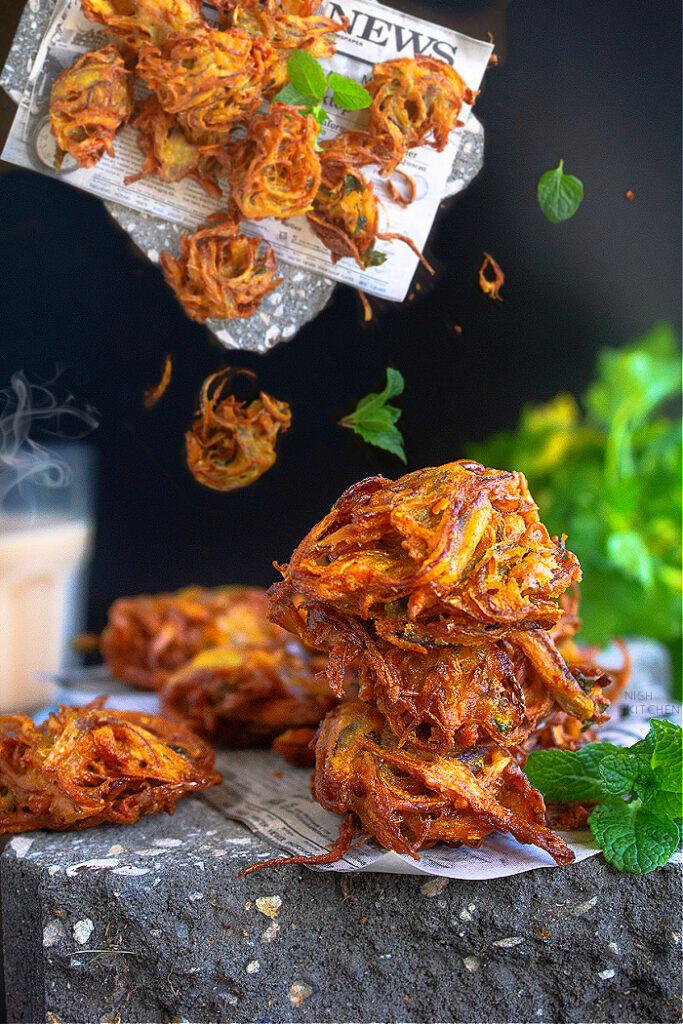 Onion Bhaji Recipe Video