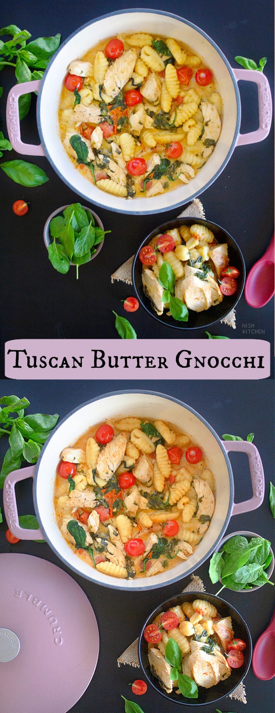 Creamy Tuscan Butter Gnocchi With Chicken