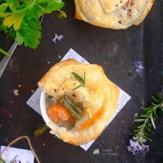 Vegetable Pot Pie recipe Video