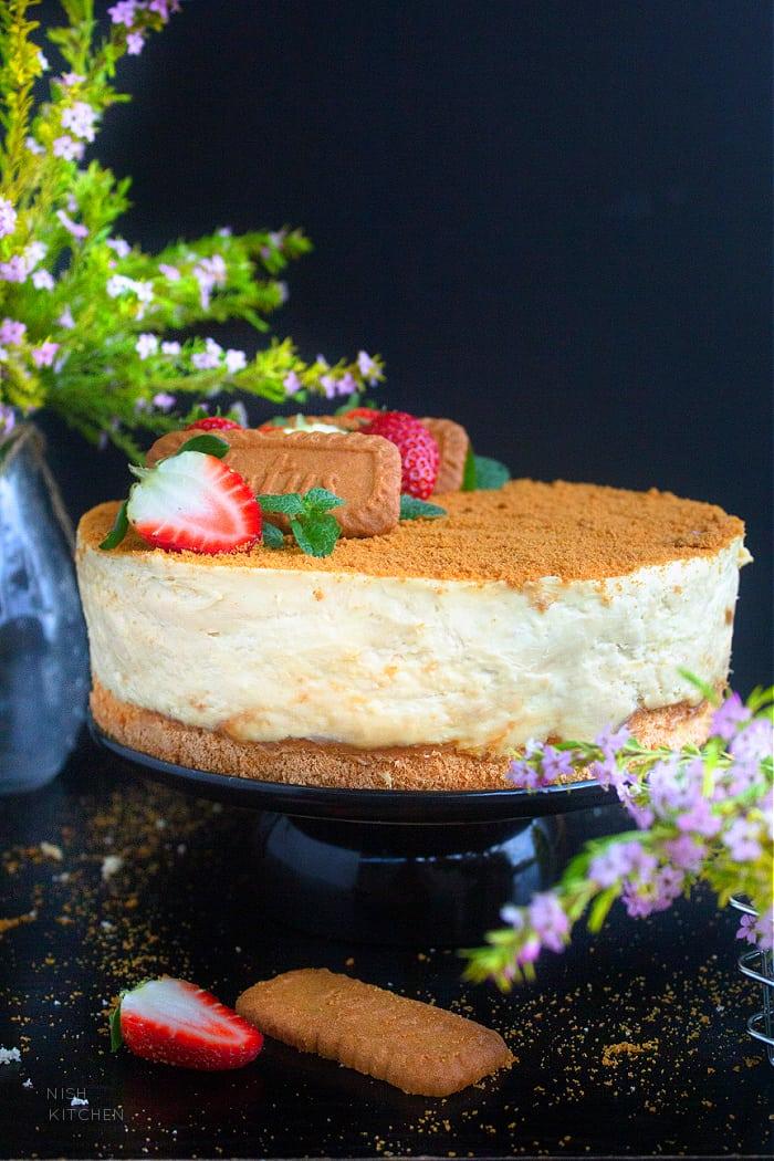 Biscoff Cheesecake Cake