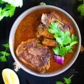 Indian lamb chops curry recipe video