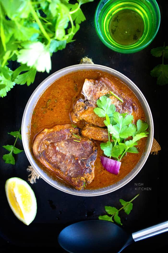 Indian lamb chops curry recipe