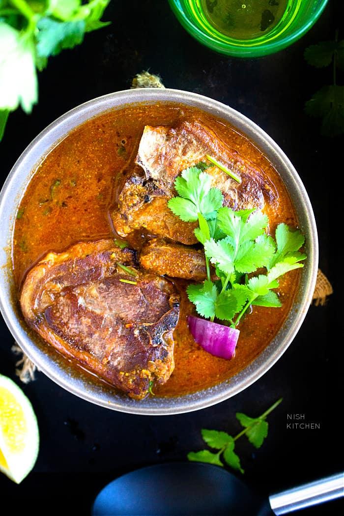 Lamb Loin Chops Curry