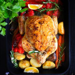Perfect Roast Chicken Recipe video