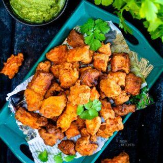 fish pakora recipe video