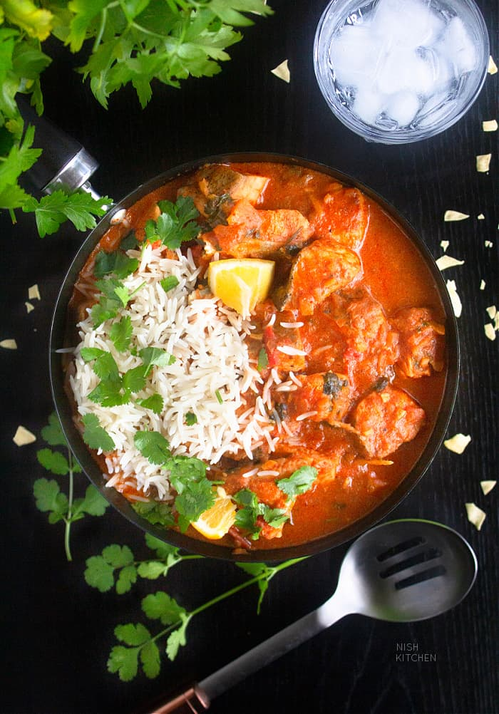 Indian style fish curry recipe
